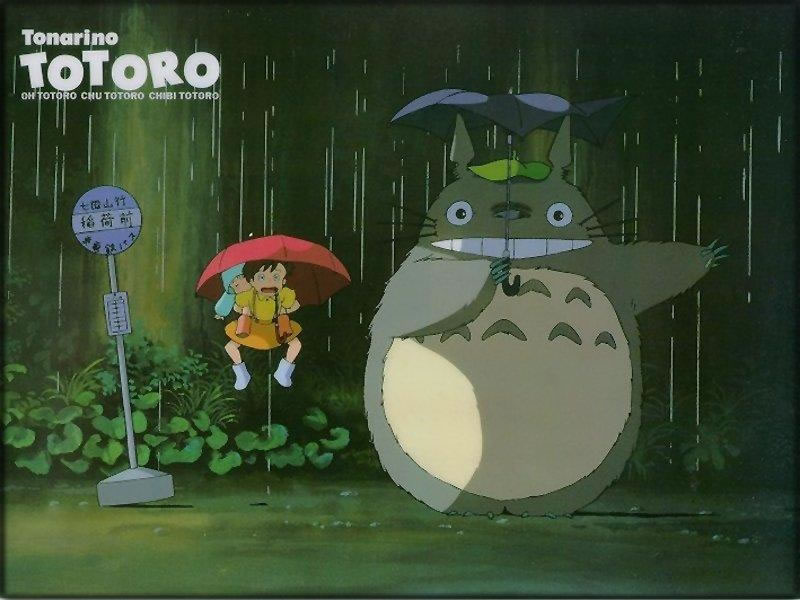 The jumping part of Totoro! Cute!~