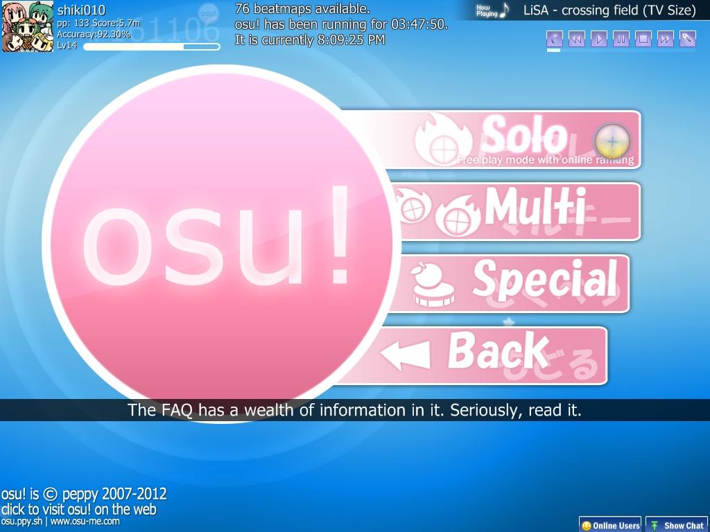 Osu! again~ – ChibiOtaku010